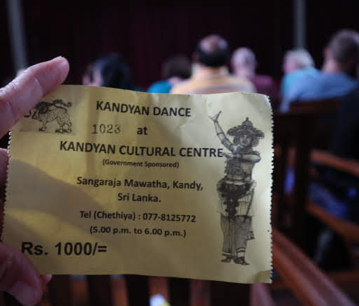 THe candyan ticket.