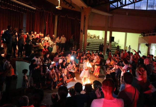 The fire dance.