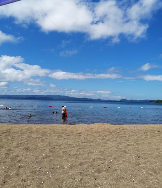 The Shida lake, Fukushima.